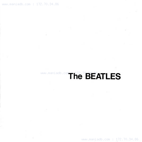 beatles white album. Beatles a.k.a White Album