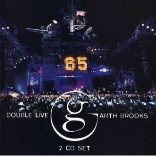 garth brooks double live cd