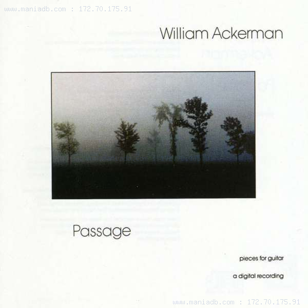 William Ackerman Past Light