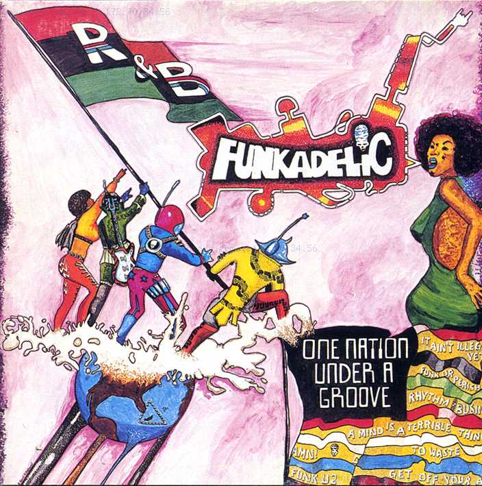 Funkadelic - One Nation Under a Groove album cover