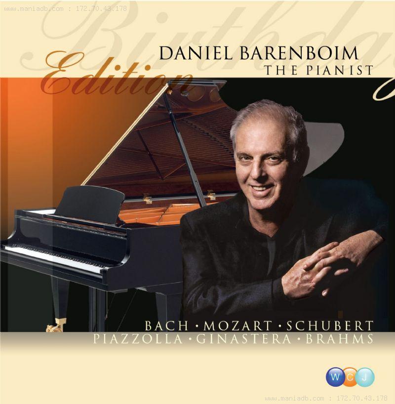 artist daniel barenboim mn discography