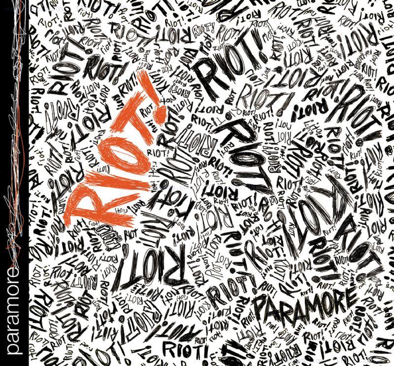 riot paramore cover. Riot!
