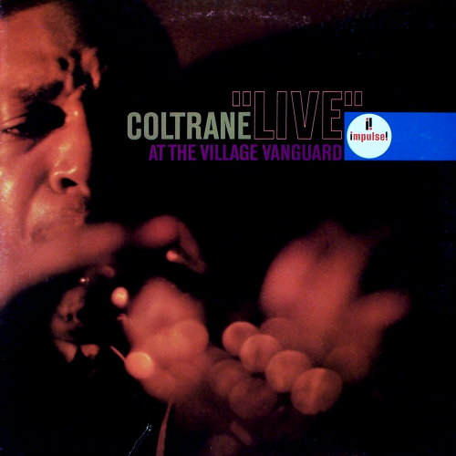John Coltrane - 'Live' at the Village Vanguard album cover