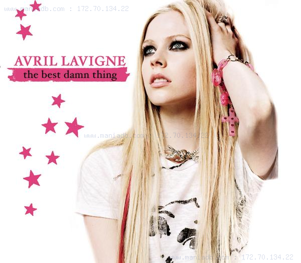 Avril Lavigne : The Best Damn Thing [single] (2008, Sony Music)