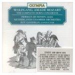 Mozart Horn concertos: KV 417, 447, 412, 370b, 495